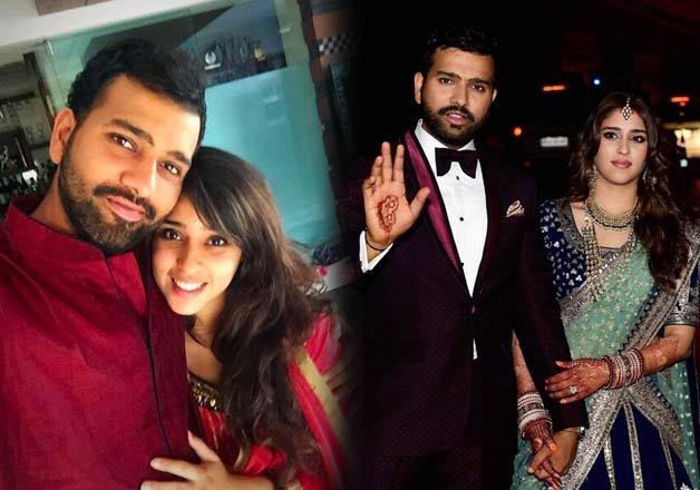 Hitched! Star Batsman Rohit Sharma Weds Ritika Sajdeh