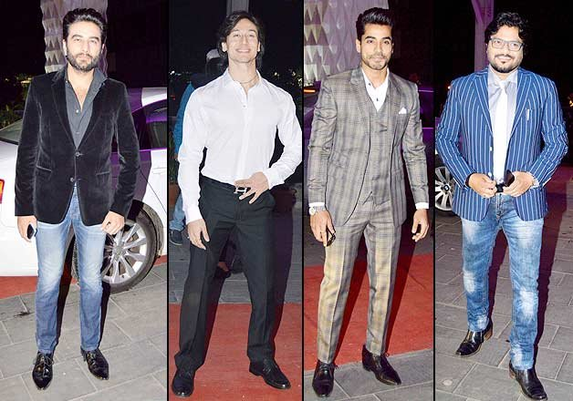 bollywood celebs at tulsi and hitesh wedding reception